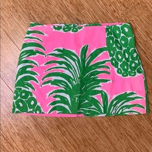 Lily Pulitzer- pineapple skirt - 8